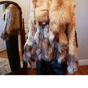 Jackets & Blazers - Vintage fox coat